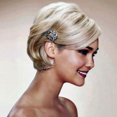 Best 50 superb wedding looks to try if you have short hair hair Short Hairstyles For Weddings Guests Choices