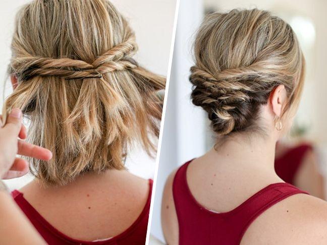 Best dicas teis top 70 penteados para casamento em cabelos Short Hair Styles Updo Inspirations