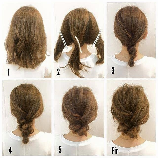 Best pin on short hairstyles Simple Braided Hairstyles For Medium Length Hair Choices