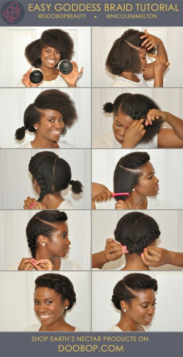 Cozy 10 more stunning natural hair pictorials protective African American Hairstyles To Do At Home Designs
