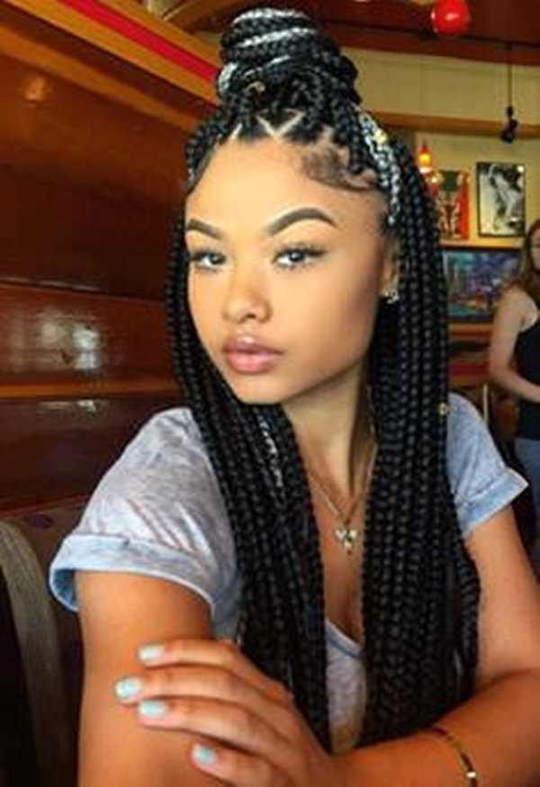 Cozy 66 of the best looking black braided hairstyles for 2020 Different Types Of Braids For African Americans Designs