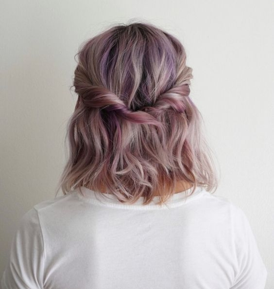Fresh 30 easy half up hairstyles thatll only take minutes to Easy Half Up Half Down Hairstyles For Short Hair Inspirations