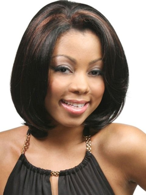 medium length hairstyles for african american women with Shoulder Length Hairstyles For African American Women