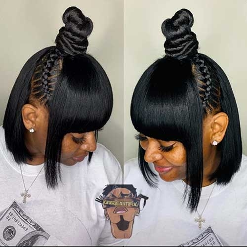 Stylish 25 cute short black haircut ideas short haircut Quick Hairstyle For Short Black Hair Inspirations