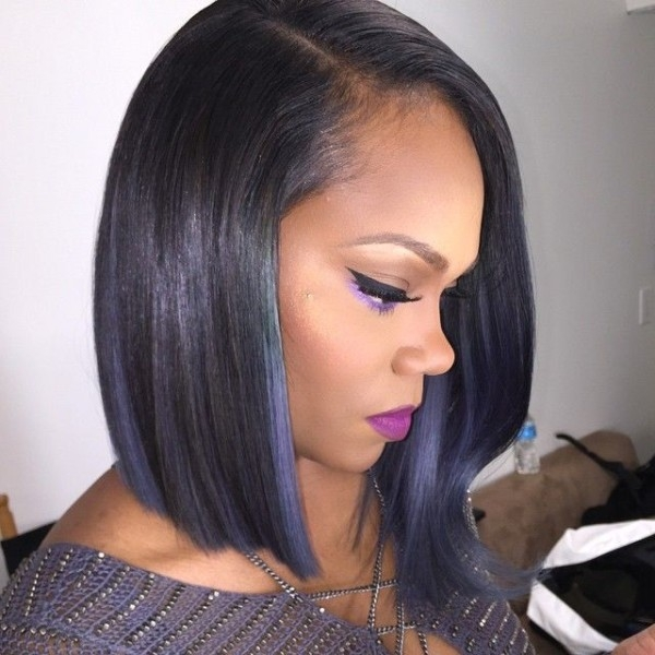 Stylish 30 trendy bob hairstyles for african american women 2021 Short African American Bob Hairstyles