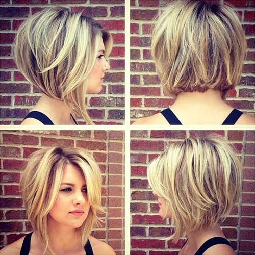 Stylish 35 best layered short haircuts for round face 2018 Short Haircuts For Round Faces Choices