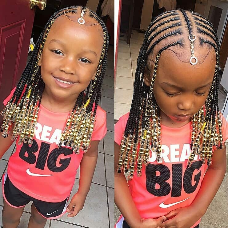 Stylish braids for kids 100 back to school braided hairstyles for kids African Kids Hair Braid Inspirations
