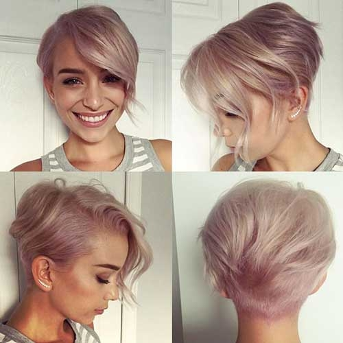 Stylish chic short hair ideas for round faces Pics Of Short Hairstyles For Round Faces Ideas