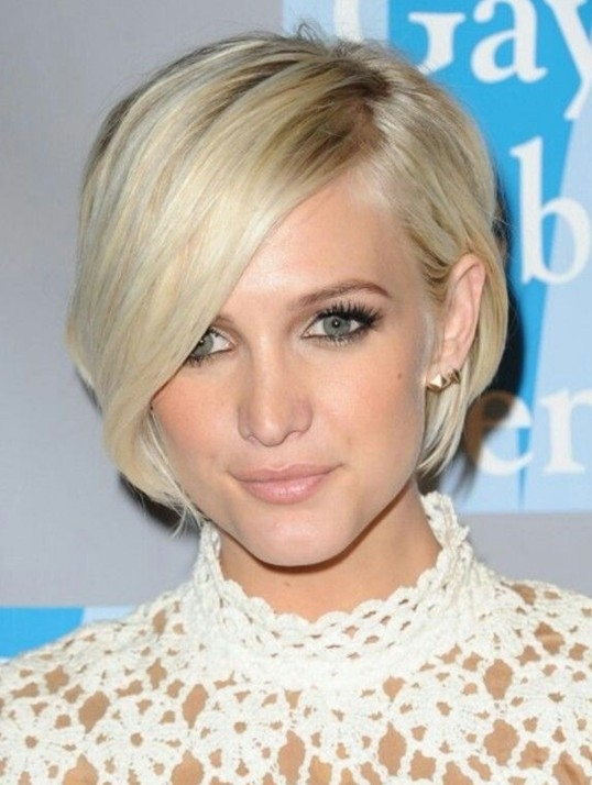 Stylish short hairstyles with bangs 2014 celebrity haircut Actresses With Short Hair Styles Ideas