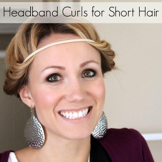 Trend heatless curls for short hair tips overnight curling Styling Short Hair Without Heat Inspirations