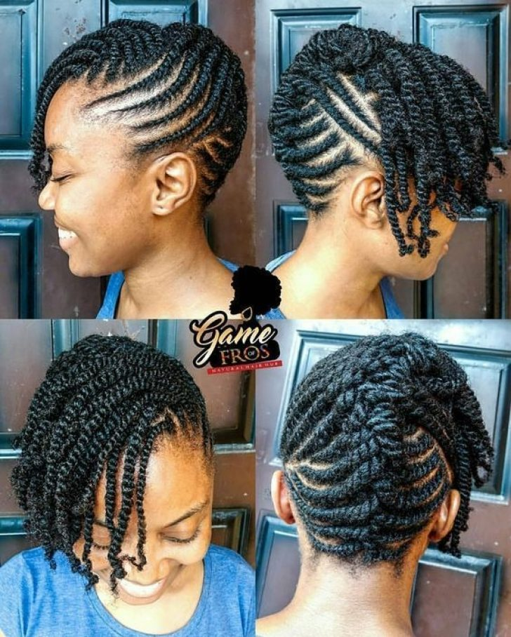 Permalink to Fresh Cornrows Styles For Natural Hair