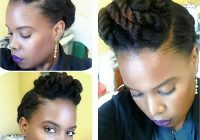 13 natural hair updo hairstyles you can create Quick Updos For Short Black Hair Choices