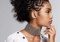 21 coolest cornrow braid hairstyles in 2020 the trend spotter Cornrows Styles For Natural Hair