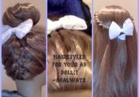 3 hairstyles for your american girl doll inspired cgh Hairstyles For American Girl Dolls Easy Ideas