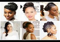 african american women braided hairstyles for weddings youtube Wedding Hairstyles Braids African American