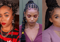 Awesome 105 best braided hairstyles for black women to try in 2020 Cute Braid Hair Styles Choices