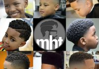 Awesome 23 best black boys haircuts 2020 guide Kid African American Hairstyles Designs