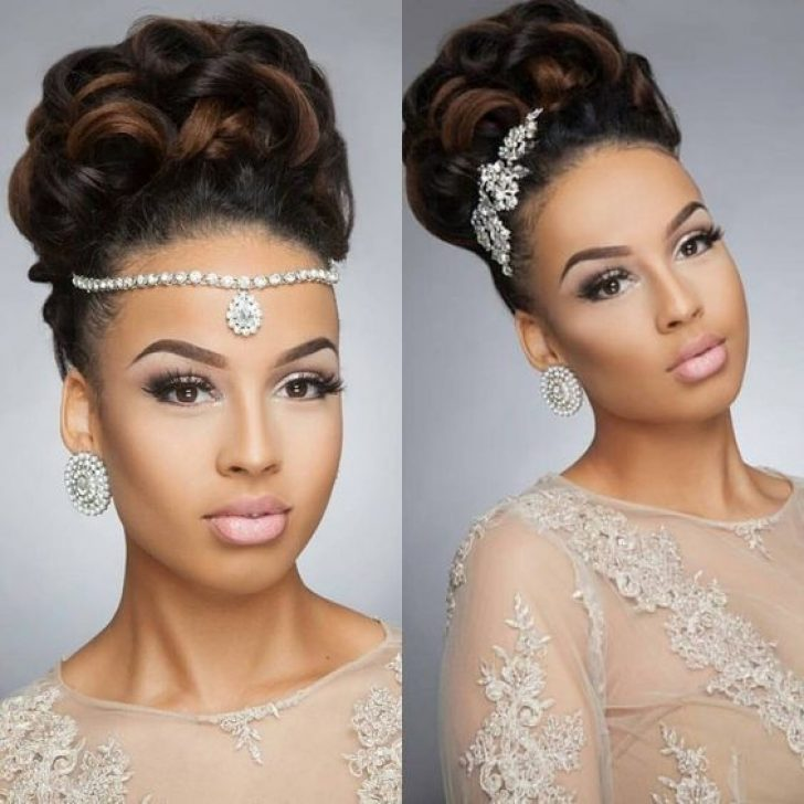 Permalink to 10 Modern Wedding Hairstyles For African American Hair Inspirations