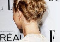Awesome 44 incredibly chic updo ideas for short hair Short Hair Styles Updo Ideas