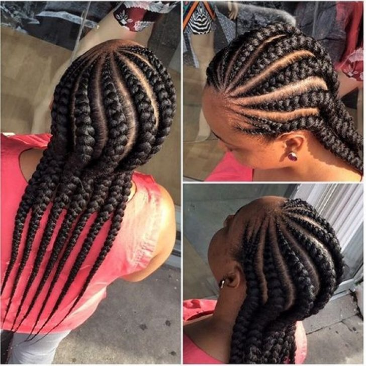 Permalink to 9 Unique African American Cornrow Braided Hairstyles