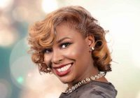 Awesome blonde hair color for african american women from lacey African American Colored Hairstyles Ideas