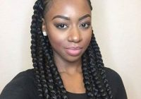 Awesome box braids african american braided updo hairstyle Black American Braids Styles Ideas