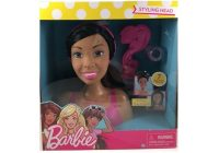 barbie doll styling head 7 piece small african american African American Hair Styling Doll Head Designs