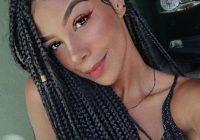 Best 105 best braided hairstyles for black women to try in 2020 Black American Braids Styles