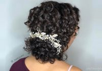 Best 18 stunning curly prom hairstyles for 2020 updos down Hairstyles For Short Curly Hair For Prom Choices