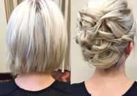 Best 20 gorgeous prom hairstyle designs for short hair prom Short Hair Styles Updo Ideas