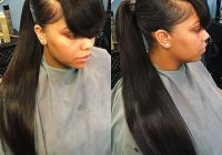 Best 30 glamorous weave ponytails that are trendy 2020 African American Weave Ponytail Hairstyles Designs