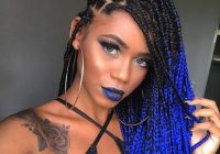 Best 88 best black braided hairstyles to copy in 2020 stayglam Best Braid Hairstyles Ideas