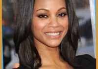 Best hairstyles for medium length thin african american hair Shoulder Length Hairstyles For African American Women