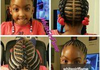 Best im definitely braiding my daughters hair like this lil African Kids Hair Braid Ideas
