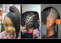 Best lil girl braiding hairstyles little black girl natural hair styles African American Hairstyles For Kids Ideas