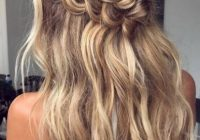 Best waterfall braid perfect way to wear your hair half up with Braid Ideas For Hair Ideas