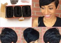 brazilian human short hair extensions 27 pieces short human Short Hair With Extensions Styles Inspirations