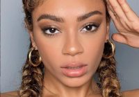 Cozy 105 best braided hairstyles for black women to try in 2020 French Braids African American Hair Designs