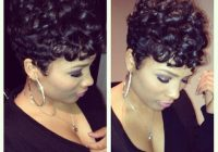 Cozy 22 easy short hairstyles for african american women Short Curly Hairstyles African American Ideas