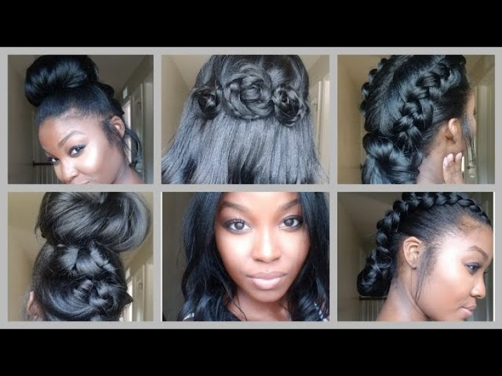 Permalink to 10 New Hairstyles For Medium Length Relaxed African American Hair Inspirations