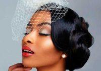 Cozy 43 black wedding hairstyles for black women in 2020 African American Bridal Hairstyles Designs
