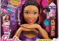 Cozy barbie deluxe styling head african american barbie African American Hair Styling Doll Head