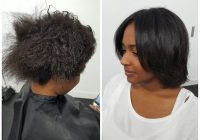 Cozy best hairstyles for relaxed hair trending in december 2020 Hairstyles For Medium Length Relaxed African American Hair