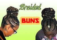 Cozy braided bun hairstyles a guide to perfection curly craze African American Braided Bun Hairstyles Ideas