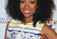 Cozy brandy medium black curly hairstyle for black women Haircuts For African American Curly Hair Ideas