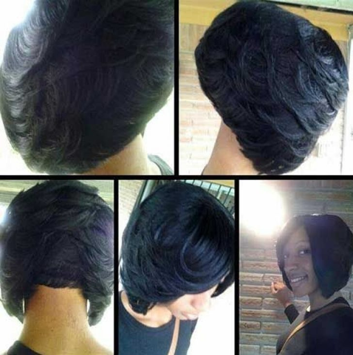 Permalink to 11 Fresh African American Layered Bob Hairstyles Gallery