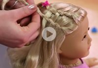 dos dolls fun american girl hairstyles for your girl and American Girl Dolls Hair Styles