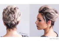 Elegant 1 prom hairstyle for short hair in 2020 is here 17 more Hairstyles For Short Curly Hair For Prom Ideas