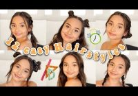 Elegant 12 easy hairstyles for back to school 2018 short and long Hairstyles For Back To School Short Hair Choices