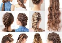 Elegant 15 cute and easy french braid hairstyles you need to try French Braid Hair Style Inspirations